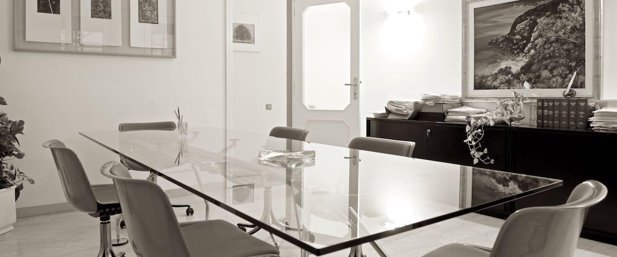 Studilegaliassociati Cagliari, la sala riunioni
